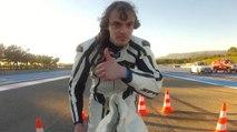François Gissy dépasse les 300 kmh avec un vélo fusée