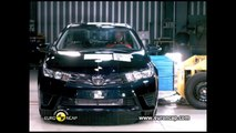 EURO NCAP - 2013 Toyota Corolla - Crash test (5 stars rating) and ESC test (pass)
