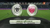 ANGERS SCO / DIJON FCO - Rediffusion du match Angers SCO Dijon FCO