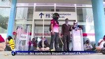 Etudiants disparus au Mexique: des manifestants bloquent l'aéroport d'Acapulco