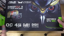 ASUS GeForce GTX 980 - Unboxing (4K)