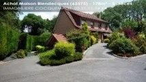 A vendre - maison - Blendecques (62575) - 5 pièces - 178m²