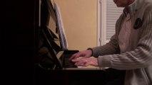 2014 La bas jean jacques goldman version piano solo
