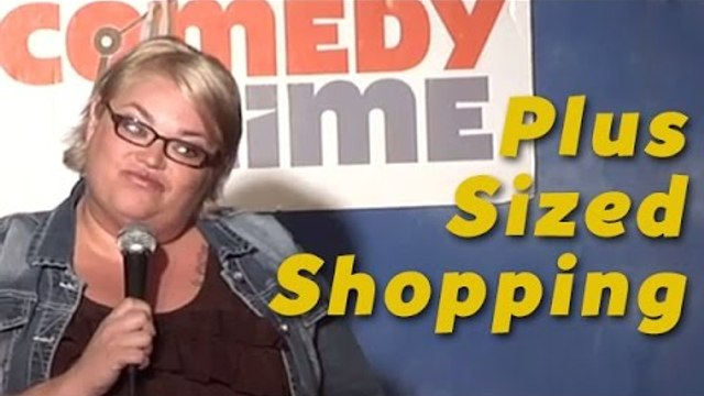 Stand Up Comedy by Amy Blackwell - Plus Sized Shopping