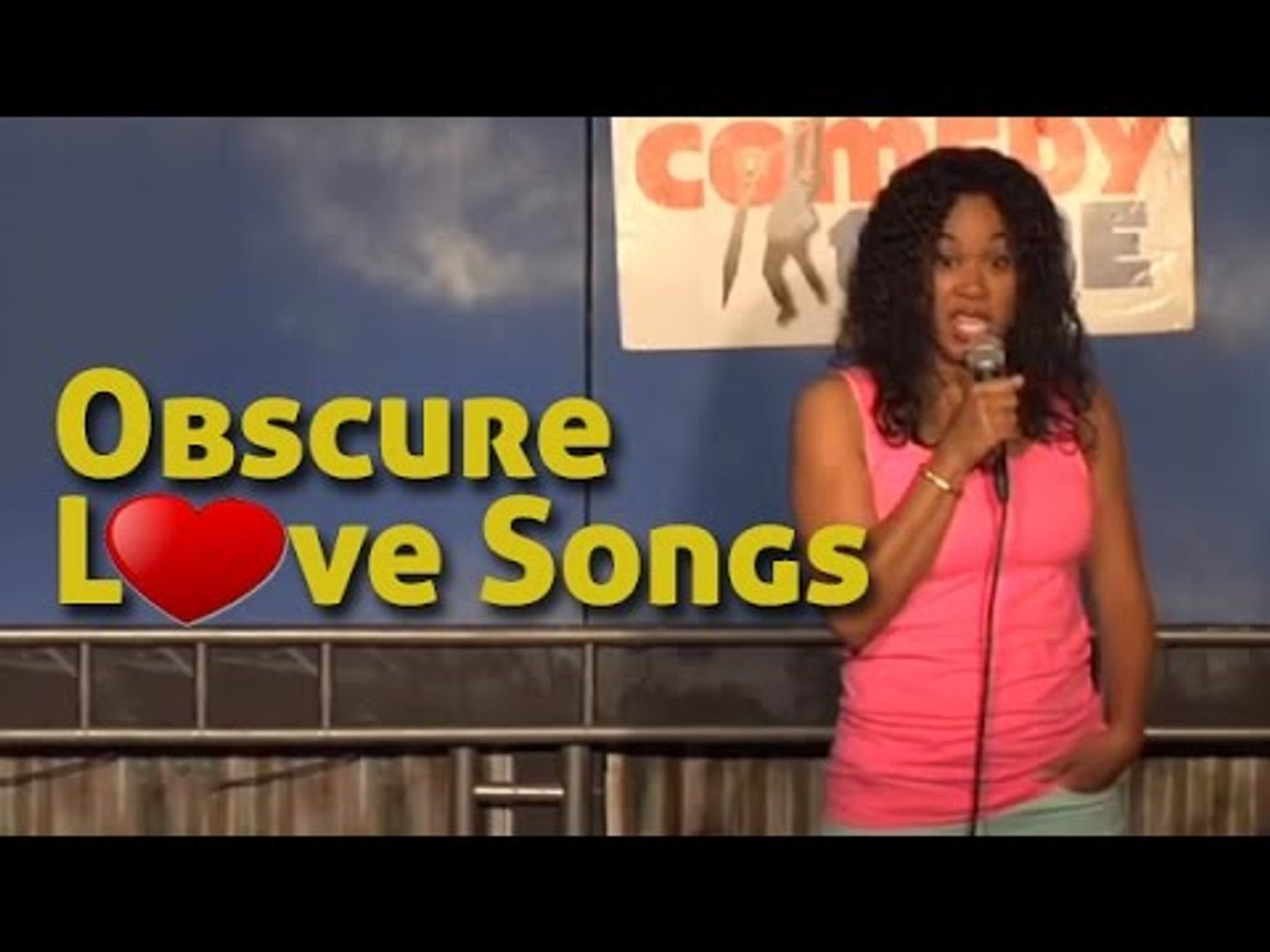Stand Up Comedy By Melia Mills Obscure Love Songs