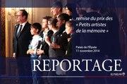 """[REPORTAGE] #11nov Remise du prix des """"Petits artistes de la Mémoire"""""""