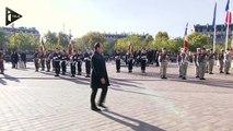 L'hommage de François Hollande au soldat inconnu