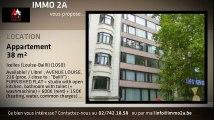 A louer - Appartement - Ixelles - Ixelles (Louise-Bailli) (Louise-Bailli) - Ixelles (Louise-Bailli) (1050) - 38m²