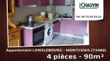 A vendre - appartement - LANSLEBOURG - MONTCENIS (73480) - 4 pièces - 90m²