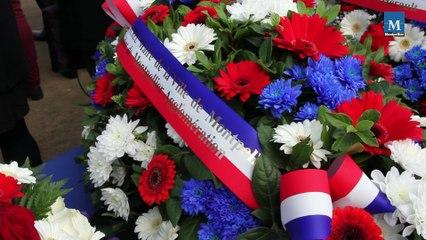 Commémoration 2014 de l'Armistice de 1918 à Montpellier