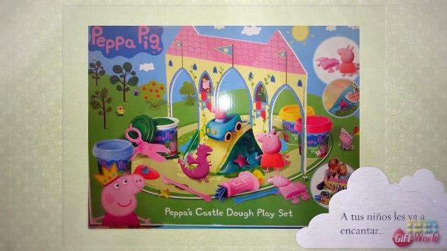 Peppa Pig Castillo Plastilina - Peppa Pig En Español Capitulos Completos - Juegos de Peppa Pig GW