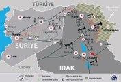 Irak ve Suriye'deki Petrol Savaşının Haritası