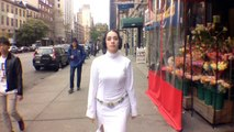 10 Hours of Princess Leia Walking in NYC and Gets Harassed By Almost Everyone From 'Star Wars