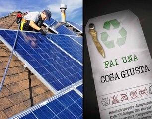usa l'energia solare   FAI UNA COSA GIUSTA