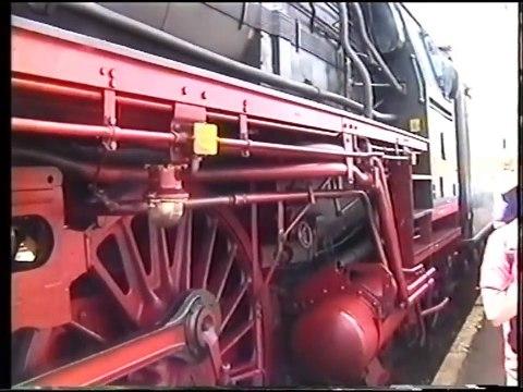 Dampfzug nach Neustadt 1997