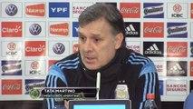 Argentinien: Messi macht Platz auf der Neun