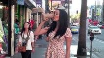 Elle fait semblant d'être ivre dans la rue (Expérience Sociale)
