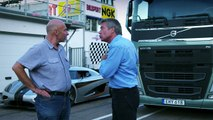 Volvo Trucks vs Koenigsegg- a race between a Volvo FH and a Koenigsegg One-1