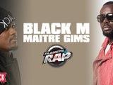 Black M et Maître Gims en live dans Planète Rap