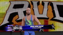 WWE 2K15 : l'entrée en vidéo de Mark Henry, Rob Van Dam et Adrian Neville