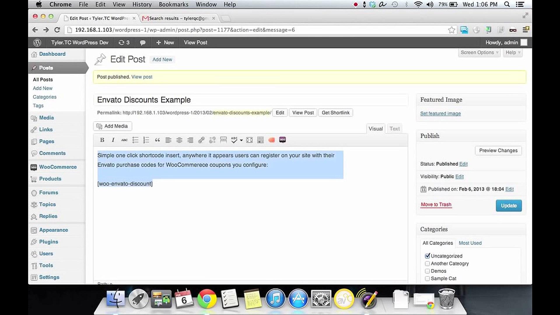 Envato Discount For WooCommerce WordPress