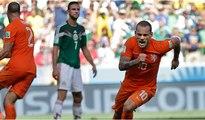 Sneijder'den harika gol