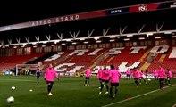 Entrenamiento previo a la Champions del Barça Femenino