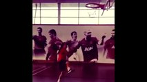 David de Gea & Ander Herrera Show Off Their Basketball Skills