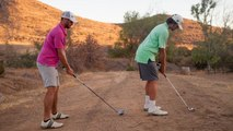 Epic Trick Shots - Nailing Incredible Golf Trick Shots Out of a Funnel