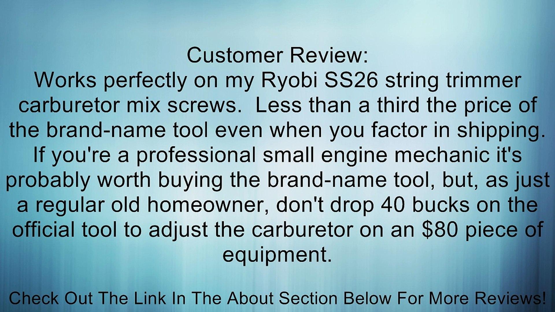 ProForm 67443 Carburetor Float Adjustment Tool with 5//8 Socket and Built-in Screwdriver Blade