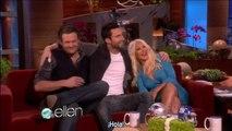 Christina Aguilera, Adam Levine & Blake Shelton en Ellen - The Voice 2 (Subtítulos español)