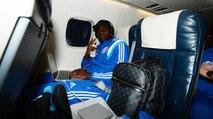#RCDEOM : Samba prépare son match dans l'avion