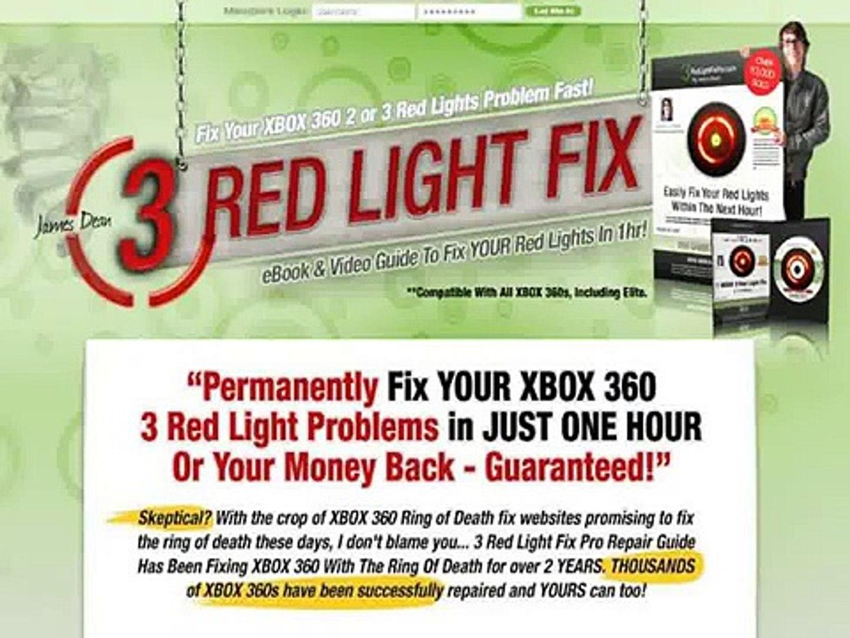 Number 1 Xbox 360 Repair Guide -- James Dean 3 Red Light Fix Review + Bonus