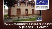 A vendre - maison - MARIGNY LE CHATEL (10350) - 5 pièces - 126m²