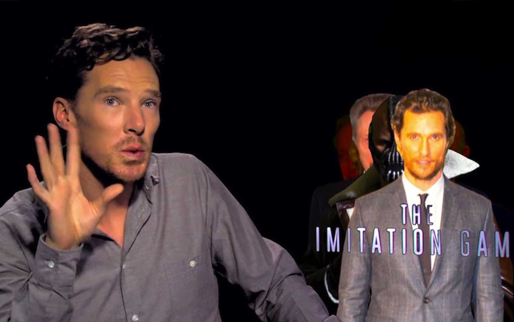 Benedict Cumberbatch imite très bien ses collègues acteurs