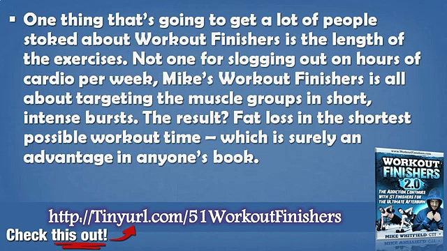 51 Workout Finishers Review – Workout Finisher