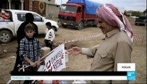 Irak - Irak : à la frontière kurde avec les peshmerga
