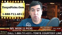 Free NFL Sunday Night Football Pick Handicapping Prediction Odds Point Spread 11-16-2014