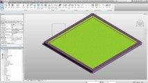 Démonstration de l'intégration de l'étanchéité de toiture sous Revit