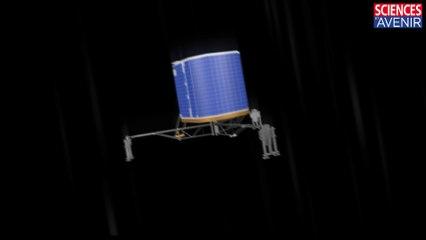 ROSETTA. 2 heures, 2 rebonds, un scénario possible pour l'atterrissage de Philae
