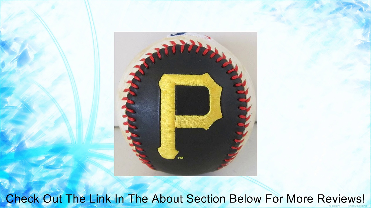 MLB Officially Licensed Pittsburgh Pirates Embroidered Baseball Review