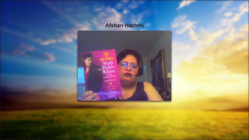 Book Review- Of a book on Shahrukh Khan By Dr.Afshan Hashmi