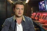 Hunger Games : La Révolte (Part 1) - Interview  Josh Hutcherson (VO)