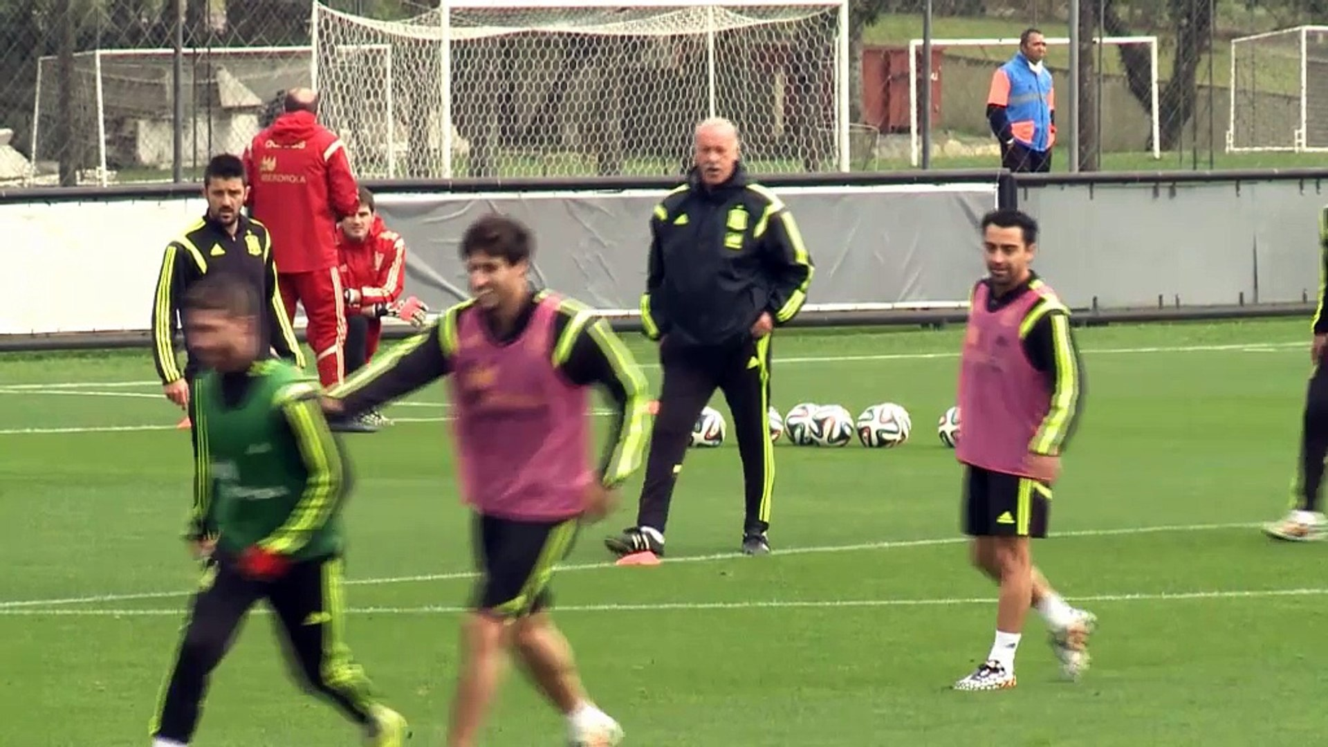 Del Bosque has trust in Spain squad