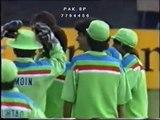 Aaqib Javed Magical Slower Ball To Mark GreatBatch  1992 World Cup