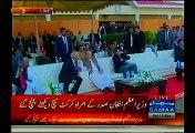 PM Nawaz Sharif , Najam Sethi & Afghan President Ashraf Ghani as Chief Guests in Exhibition Match