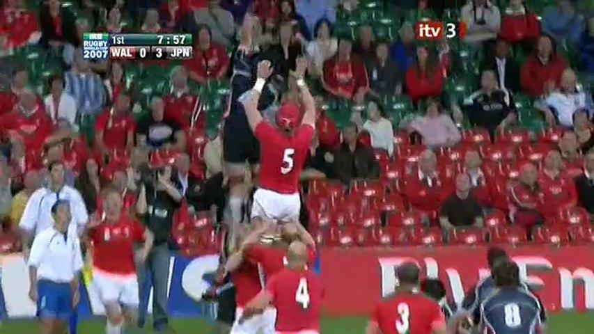 Rugby WC 2007.09.20 Pool B - Wales vs Japan