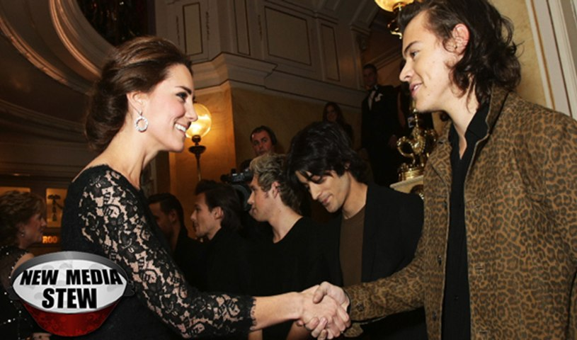 KATE MIDDLETON MEETS HARRY STYLES OF ONE DIRECTION