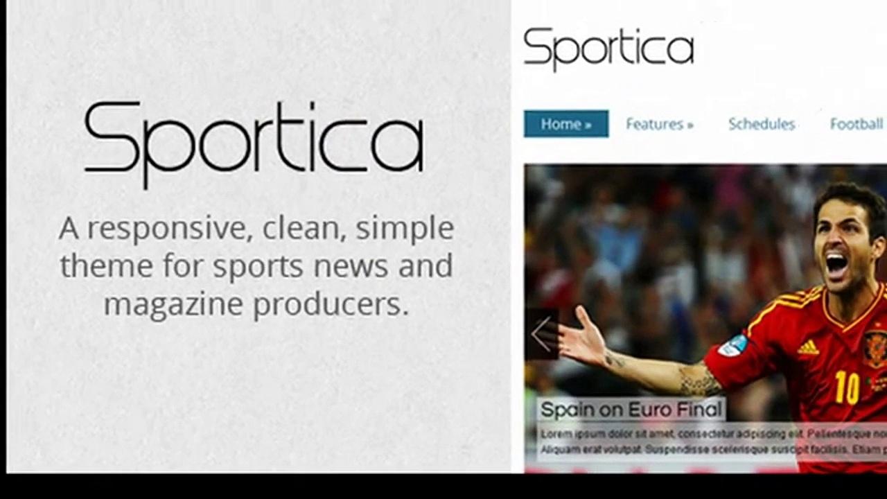 Sportica – Responsive Sports News/Magazine