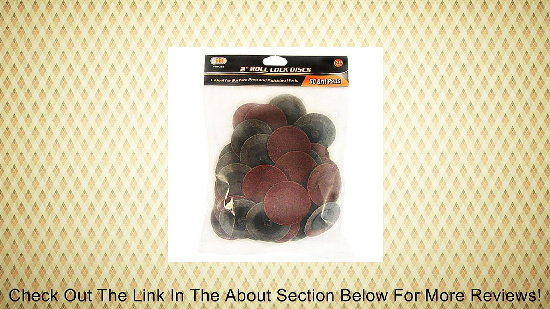 MTP TM 40x Mix 40//80//120//240 Grits 2 Roloc Type R Sanding Abrasive Disc Roll Lock